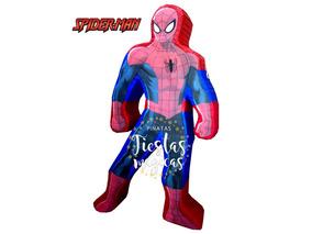 Centro De Mesa Fiesta Cumpleaños Hombre Araña Spiderman