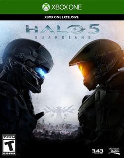 Halo 5 Guardians Xbox One Codigo 100% Original