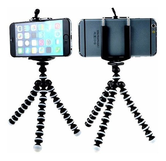 Tripé Universal Para Smartphones Tablet´s Iphones E Cameras