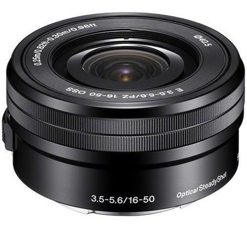 Lente Sony E Pz 16-50mm F/3.5-5.6 Oss - Selp1650 (impecável)