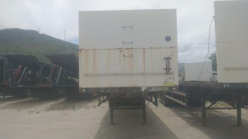 Randon Porta Container Carga Seca - 1614