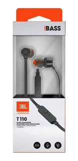 Fone De Ouvido Jbl Intra-auricular - Com Microfone Preto T11