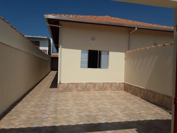 413-casa Nova Com 65m², Sendo 2 Quartos E 1 Banheiro