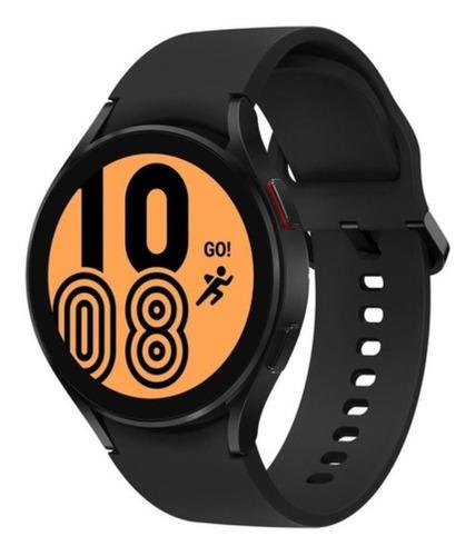 """Imagen 1 de 5 de Samsung Galaxy Watch4 (Bluetooth) 1.4"""" caja 44mm de  aluminio  black malla  black de  fluoroelastómero SM-R870"""