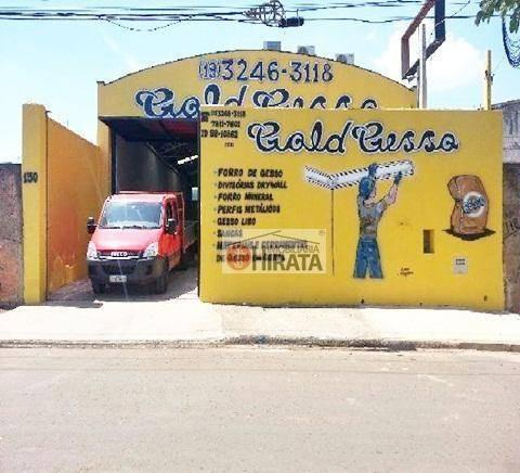 Barracão Para Alugar, 290 M² Por R$ 4.500/mês - Jardim São Marcos - Campinas/sp - Ba0027