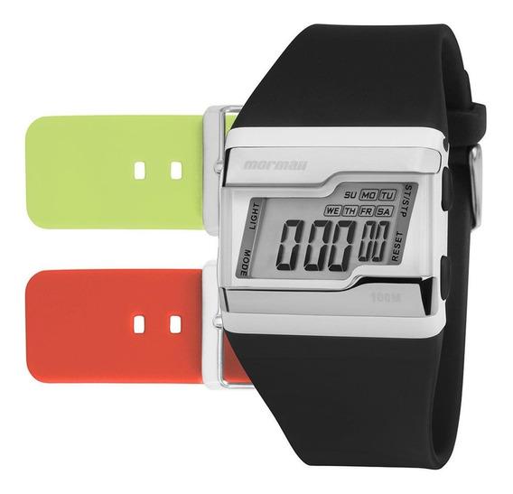 Relógio Mormaii Digital Esportivo Troca Pulseira Fzm/t8c