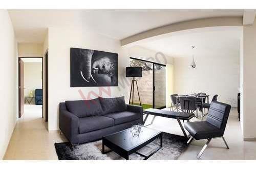 Casa Amueblada Renta Altania Residencial Con Alberca Y Vigilancia