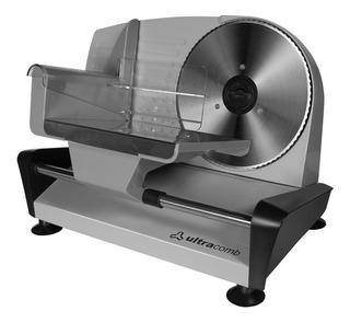Cortadora De Fiambres Familiar Ultracomb Fs-6301 150w Acero