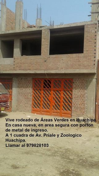Vendo Casa Nueva En Huachipa