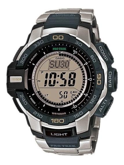 Relogio Casio Protrek Prg270d-7 Prg-270d Prg270 Em 12x S/jur