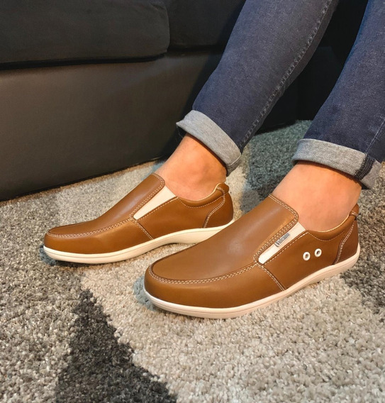 Zapatos Náuticos Cuero Vacuno