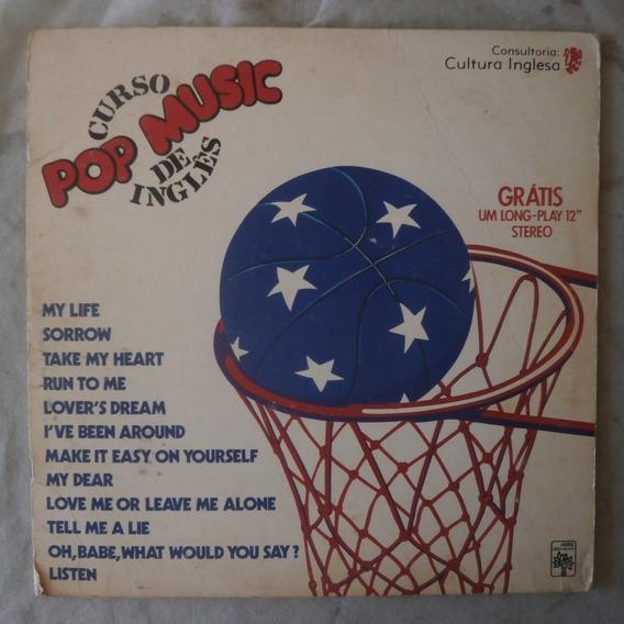 Lp Pop Music 1977 Curso De Inglês Vol.14, Partitura E Letras