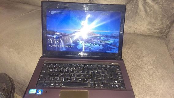 Notebook Asus Intel Core I5 6 Gb Ram/hd 500gb Modelo K43e