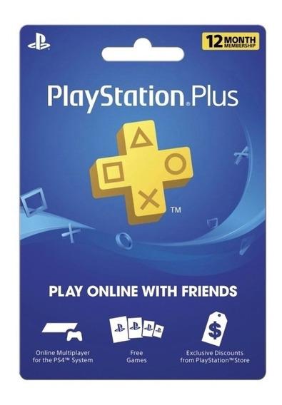 Código Psn Sony Playstation Usa Plus 12 Meses   Negromo_dra