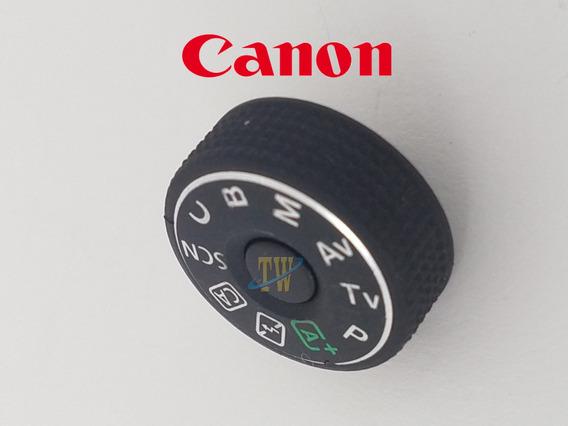 Canon 70d Botão Dial Seletor De Cenas Canon 70d Novo