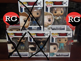 Pop! Television - Stranger Things -639-641 *