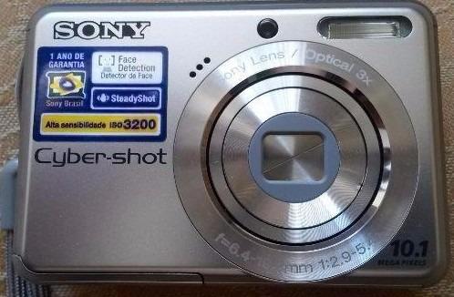 Câmera Digital Sony Cyber-shot Dsc-s930 - Semi Nova