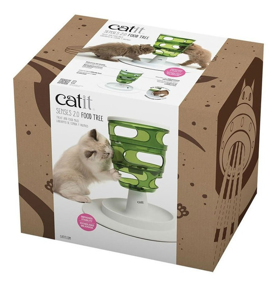 Brinquedo E Comedouro Para Gato Catit Senses 2.0 Food Tree