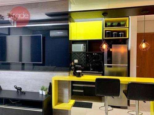Apartamento À Venda, 45 M² Por R$ 285.000,00 - Vila Ana Maria - Ribeirão Preto/sp - Ap6277