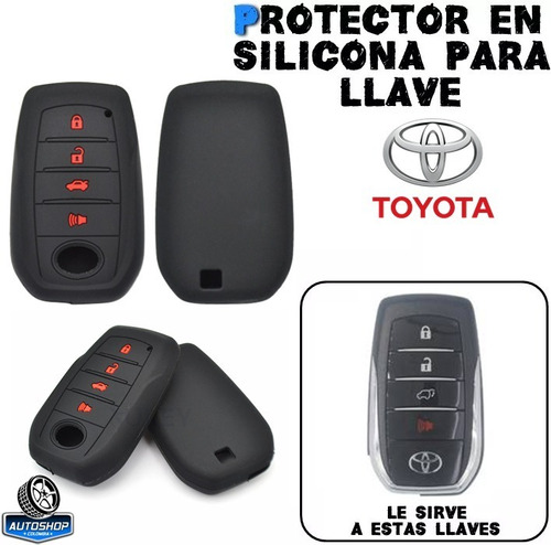 Forro Protector Llave Toyota Fortuner Sw4 Autoshop