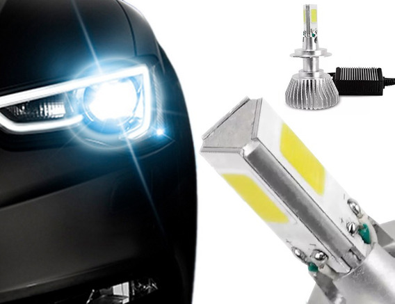 Kit Lampada Led Automotiva 3d H4 6000k 36w 12v - Par