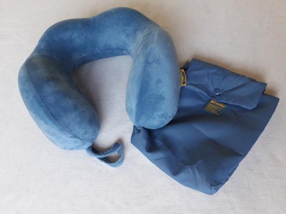Amohada Inteligente De Viaje Viscoelástica Travel Blue