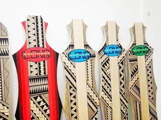 Shape Para Longboard 40 Polegadas 1m Personalizado Maori