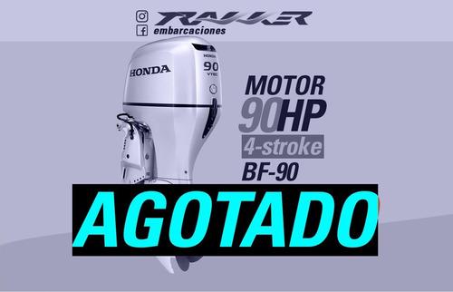 Motor Fuera De Borda Honda 90 Hp 4 Tiempos Trakker 2021