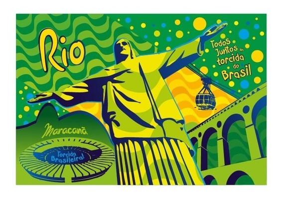 12 Capas Capô Bandeira Do Brasil Rio De Janeiro