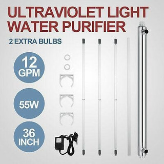 110v Agua De Luz Ultravioleta Purificador Toda La Casa -2587