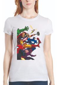 Playera Blusa Marvel Super Héroes Avengers Endgame