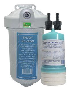 Filtro De Agua Enjoy #7rp 2 Conectores Para Neveras Ozono