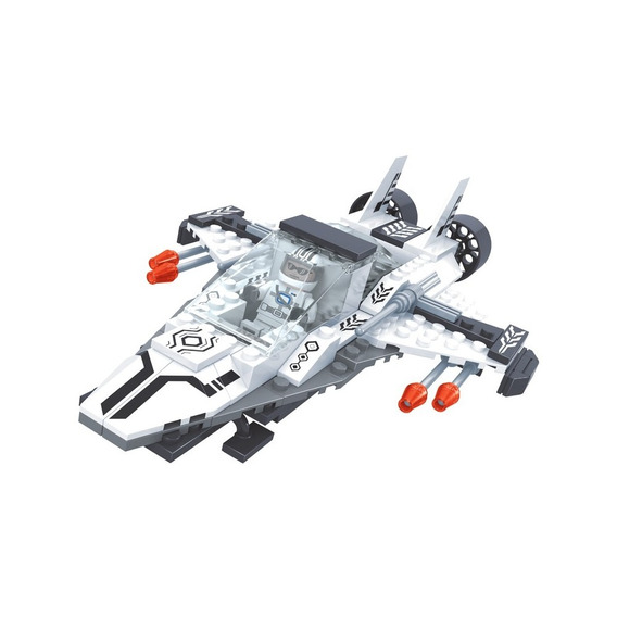 Brinquedo De Montar - Nave Armada - Com 126 Peças