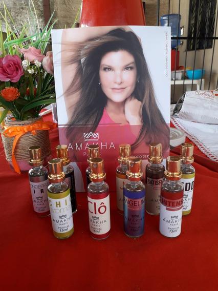 Perfumes 15ml Amakha Paris Kit Com 10unidades