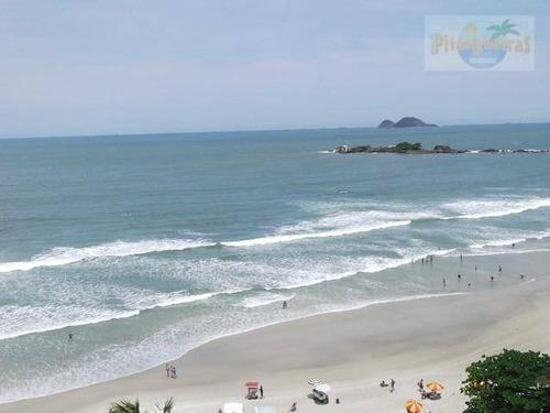 Praia De Pitangueiras - Frente Total Par O Mar - Alto Padrão - 2 Vagas - Varanda Com Vista Espetacular Ao Mar - 204 M² Úteis. - Ap0275