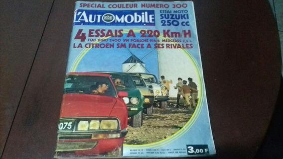 Revista Carros Antigos França L