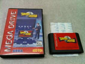 2755 Jogo Mega Drive Show Do Milhão Sem Uso