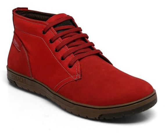 Bota Ferracini Couro Onix Red 7117-514e