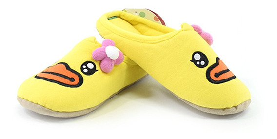 Pantuflas Buffy Amarillas