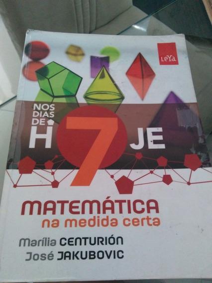 Nos Dias De Hoje 7 Ano Matematica