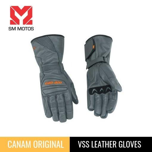 Canam Vss Leather Gloves Guantes Originales