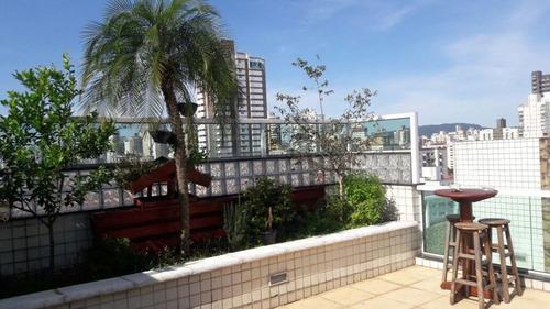 Apartamento Com 3 Dormitórios À Venda, 280 M² Por R$ 1.050.000,00 - Campo Grande - Santos/sp - Ap3826