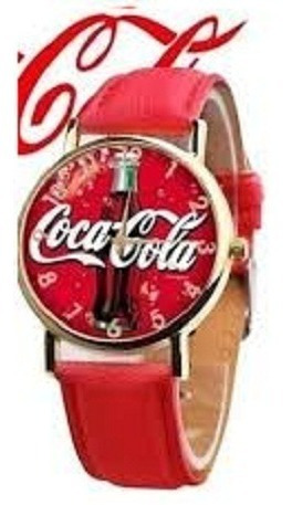 Relogio De Pulso Coca Cola Masculino Feminino Unissex