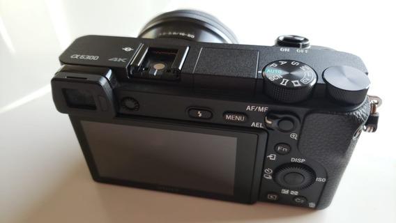 Câmera Sony 6300