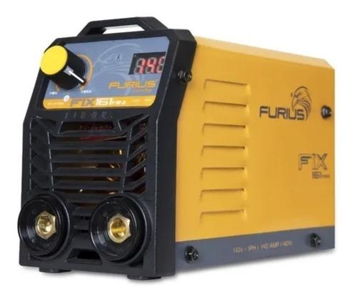 Imagen 1 de 2 de Soldadora inverter Furius FIX 161 Mini 50Hz/60Hz 110V