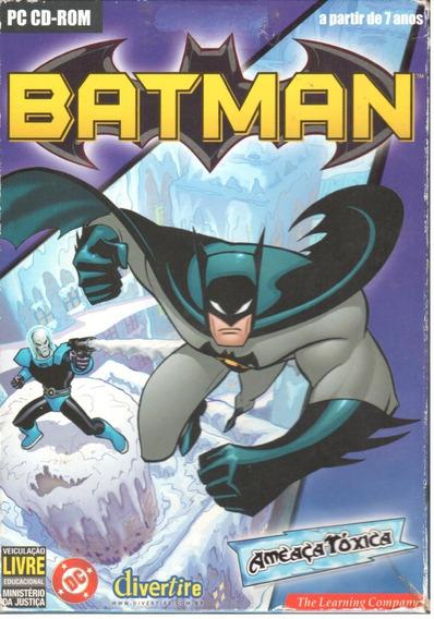 Batman Ameaça Tóxica Jogo Pc Original Mídia Física Lacrado