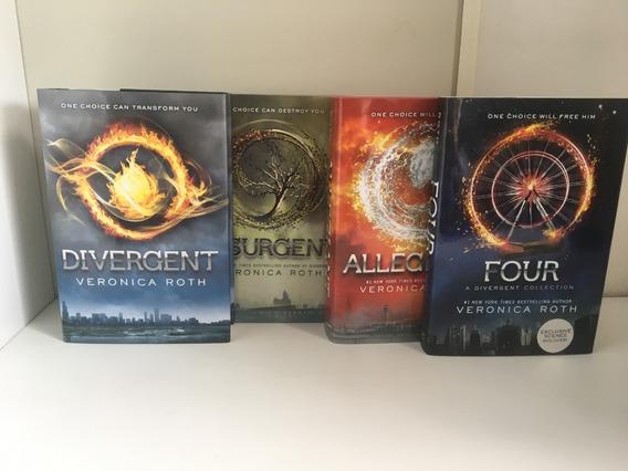 Divergent (english Edition) Coleção Completa - Capa Dura