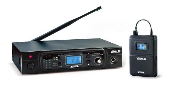 Sistema Monitor 16 Canais Uhf - Vokal Vmt-50