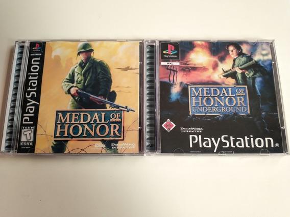 Medal Of Honor Collection - Psone Patch Em Português