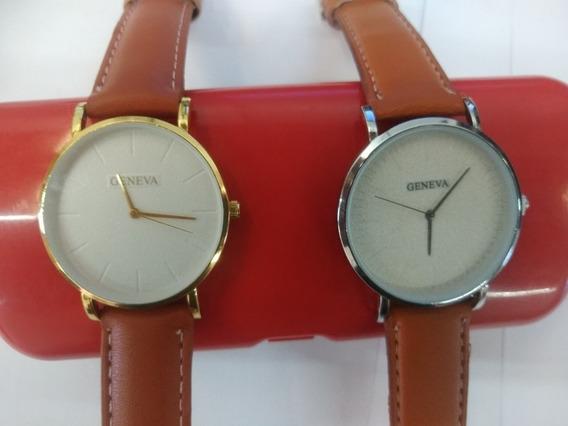 Relógio Do Casal /relógio Para Pareja Gênova Top 2 Relógios